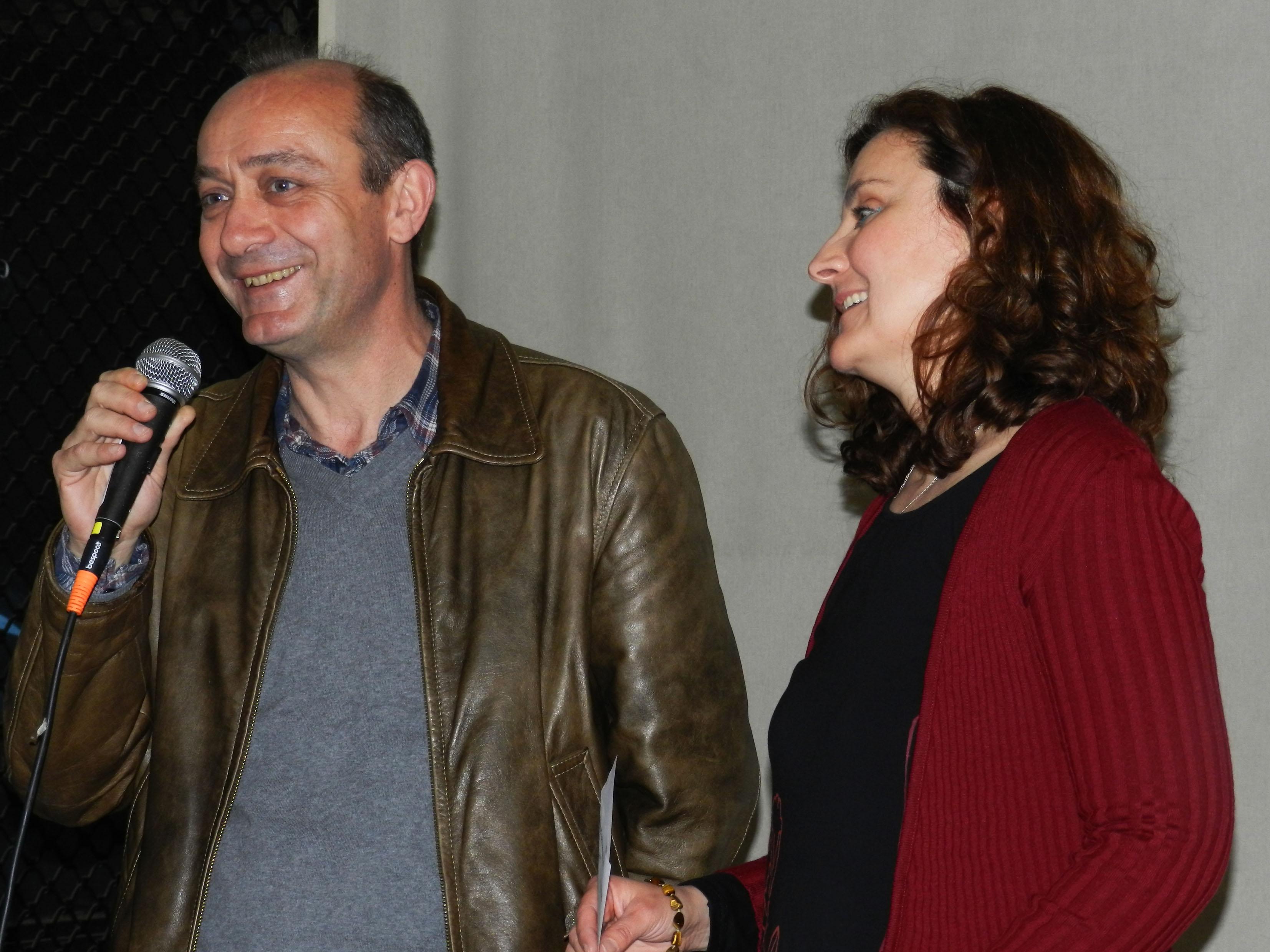 Το Φεστιβάλ ήταν οργάνωση της Εταιρείας Ελλήνων Σκηνοθετών (Παράρτημα Θεσσαλονίκης), εδώ ο Νίκος Σέκερης, μέλος του Δ.Σ. της ΕΕΣ, με την Αναστασία Χριστοφορίδου.