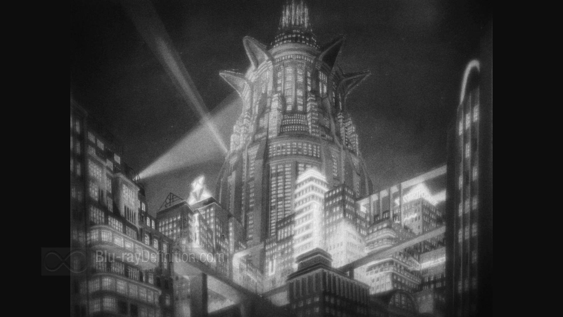 """Η """"Μητρόπολη"""", του Φριτς Λανγκ, μια από τις πιο εκφραστικές ταινίες των αρχών του 20ου αιώνα."""
