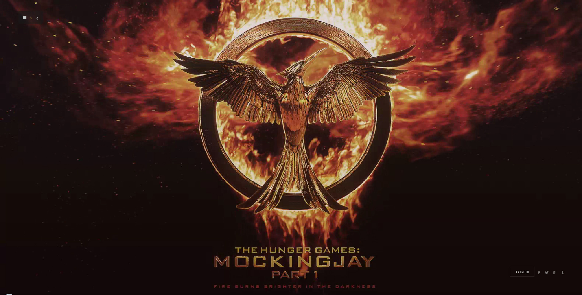 THE HUNGER GAMES: MOCKINGJAY- PART 1