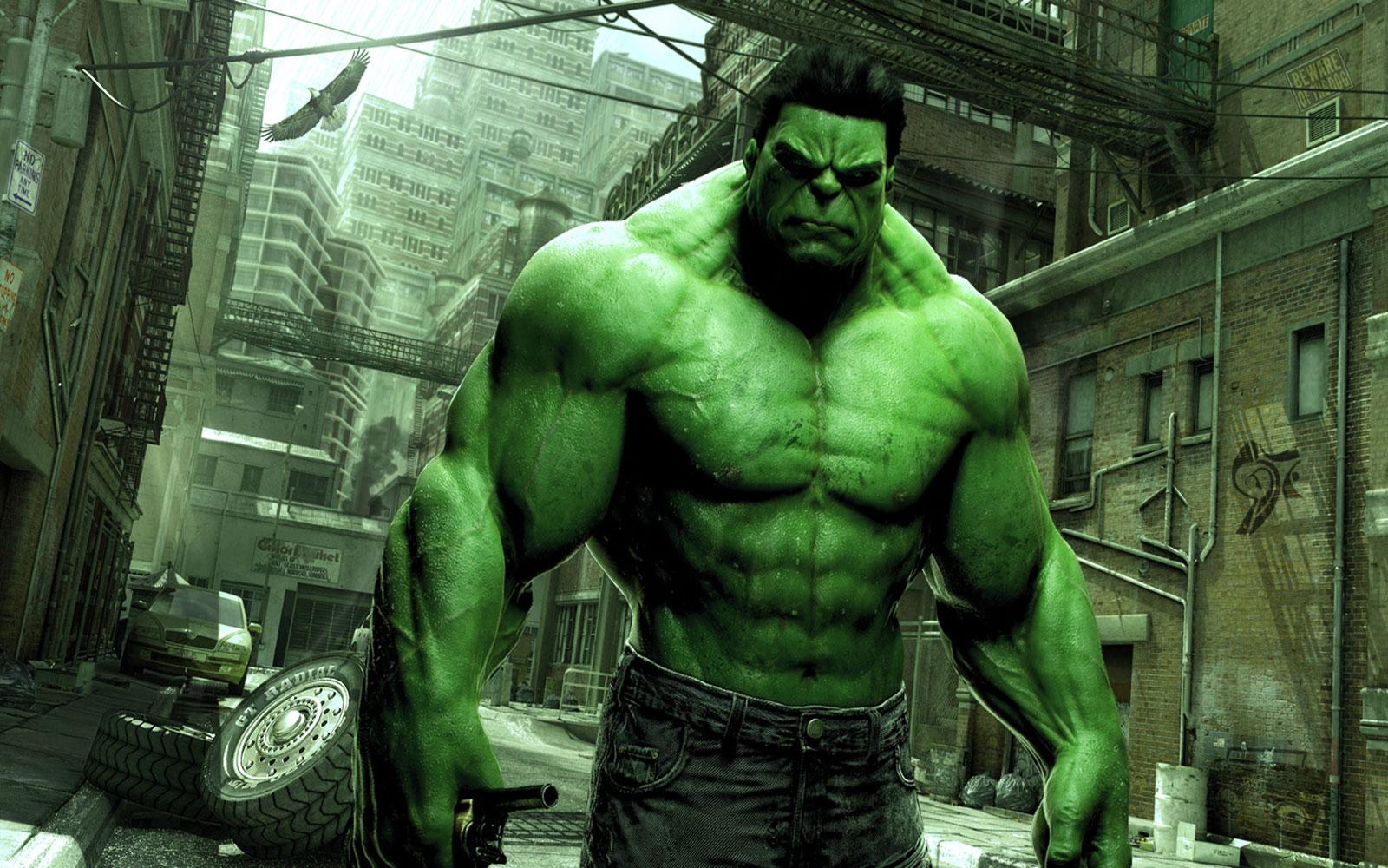 """Ένας άλλος ήρωας, ο """"Hulk"""" αναλαμβάνει να μας τρομάξει."""